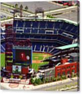 Phillies Citizens Bank Park Philadelphia Canvas Print