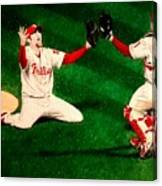 Phillies Win The World Series Canvas Print