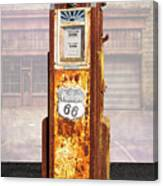 Phillips 66 Antique Gas Pump Canvas Print