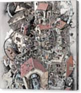 Philosophia Turbae Canvas Print