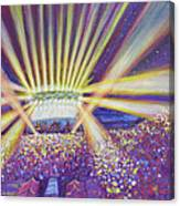 Phish At Dicks 2016 Canvas Print