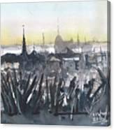Phnom Penh Panorama Canvas Print