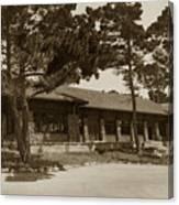 Phoebe A Hearst Social Hall Asilomar Pacific Grove Circa 1925 Canvas Print