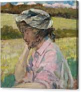 Phoebe At Onteora Canvas Print