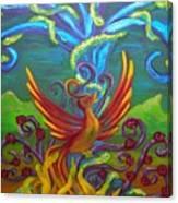 Phoenix Bird Canvas Print