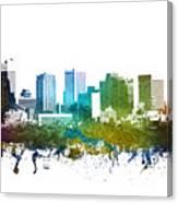 Phoenix Cityscape 01 Canvas Print