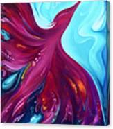 Phoenix Creation Rising Canvas Print