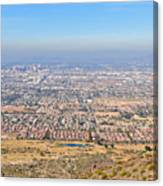 Phoenix From South Mountain Canvas Print