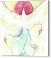Phoenix Sun Canvas Print