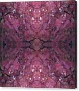 Photo 0800 Autumn Tree Leaves Fractal E2 Thin Canvas Print