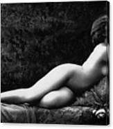 Photo Erotique D'une Femme Nue Canvas Print