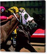 Photo Finish Canvas Print