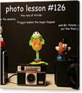 Photo Lesson  Canvas Print