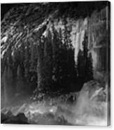 Photographer At Vernal Falls Canvas Print