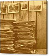 Photographic Memories Canvas Print