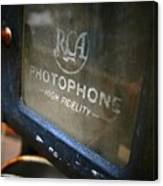 Photophone Canvas Print