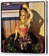 Phra Mae Thorani. Holy Mother Of Earth Canvas Print