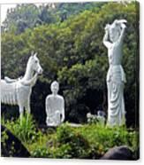 Phu My Statues 1 Canvas Print