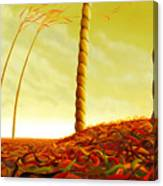 Phyllostachys Instita Canvas Print