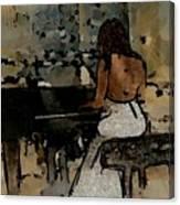 Pianist #0077 Canvas Print