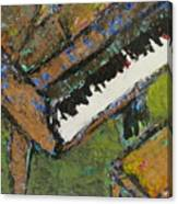 Piano Close Up 1 Canvas Print