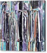 Piano Keys Abstract Canvas Print
