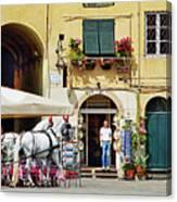 Piazza Anfiteatro Canvas Print