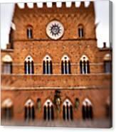 Piazza Del Campo Tuscany Italy Canvas Print