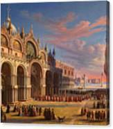 Piazza Di San Marco. Venice Canvas Print
