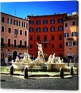 Piazza Navona 4 Canvas Print