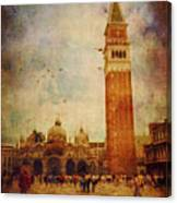 Piazza San Marco - Venice Canvas Print