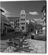 Piazza Canvas Print