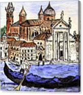Piazzo San Marco Venice Italy Canvas Print