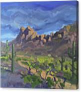Picacho Peak Canvas Print
