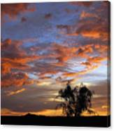Picacho Peak Sunset II Canvas Print