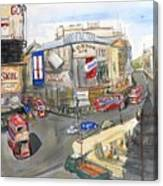Picadilly Circus Canvas Print