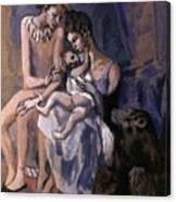 Picasso: Acrobats, 1905 Canvas Print
