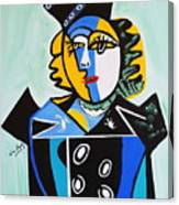 Picasso By Nora  The Queen Canvas Print