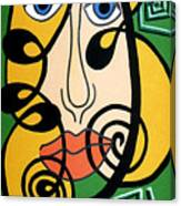 Picasso Influence Canvas Print