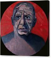 Picasso The Artist Icon Canvas Print