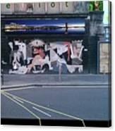 Picasso's Guernica In Glasgow, Scotland Canvas Print