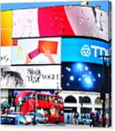 Piccadilly Magic Canvas Print