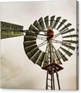 Piceance Basin Windmill Canvas Print