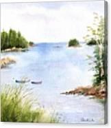 Pickering Cove Canvas Print