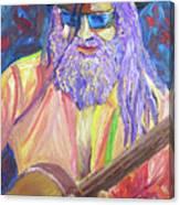 Pickin N Grinnin Canvas Print
