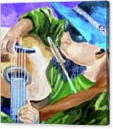 Pickin N Harmony Canvas Print