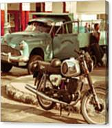 Pickup Bike  Canvas Print