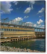 Pickwick Landing Dam Pickwick, Tennessee Canvas Print