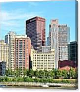 Picture Perfect Pittsburgh Panoramic Canvas Print