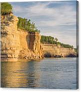 Pictured Rock Canvas Print